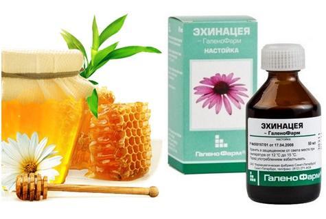 мед и настойка