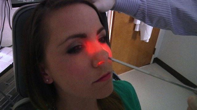 прогревание пазух носа