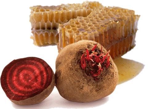 свекла и мед