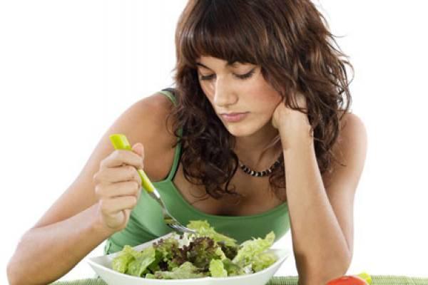 плохой аппетит у женщины