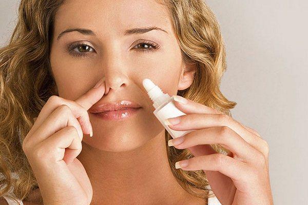 закапывание носа каплями