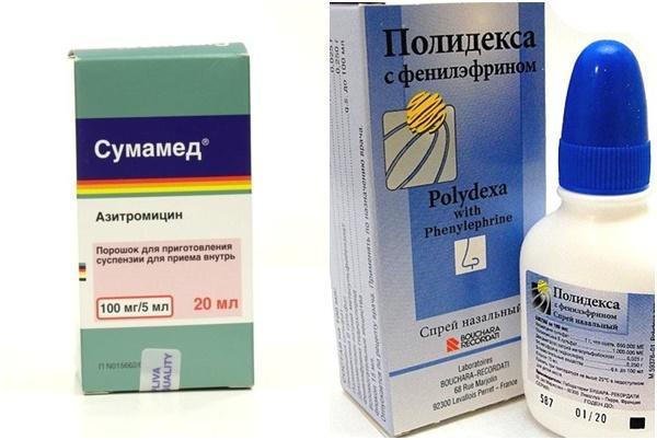 полидекс и сумамед