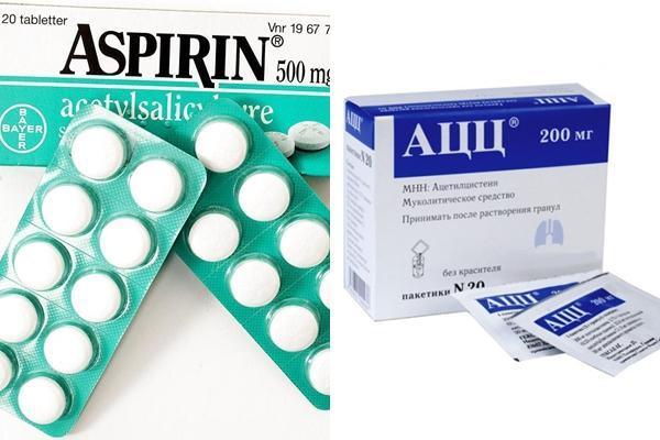 ацц и аспирин