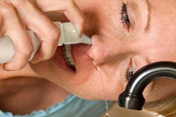промывание носа