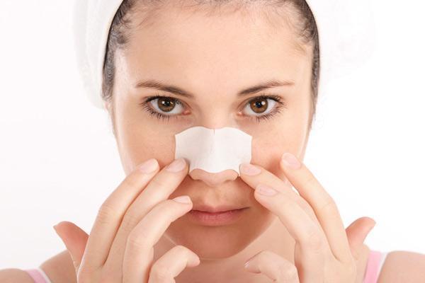 компресс на носу