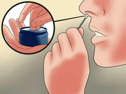 смазывание носовых проходов