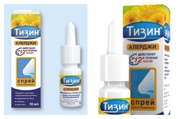 препарат Тизин Алерджи
