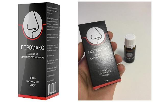 внешний вид препарата лоромакс