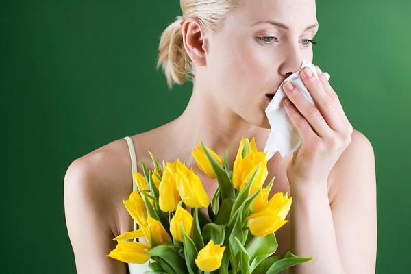 аллергический ринит на цветы