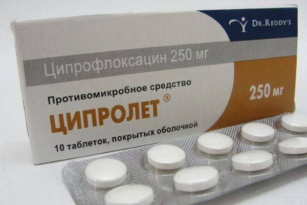 таблетки Ципролет