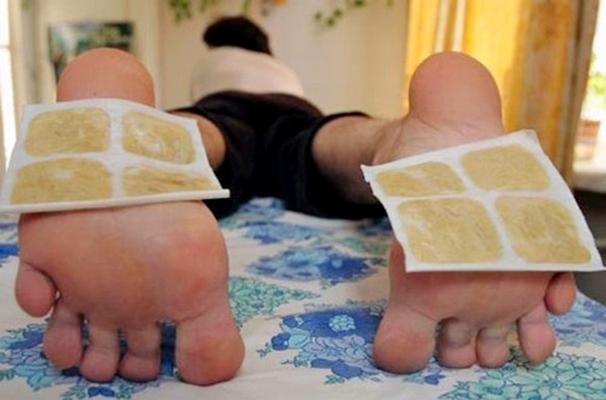 горчичники на ноги