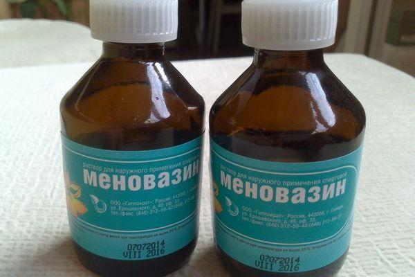 Меновазин при гайморите способ применения отзывы