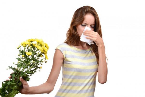 аллергия нацветы