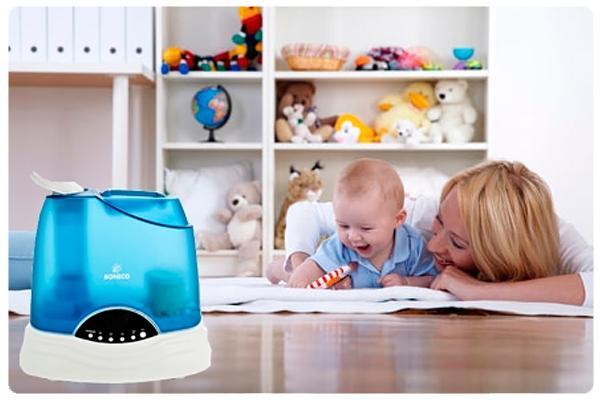 увлажнитель воздуха в дома с ребенком