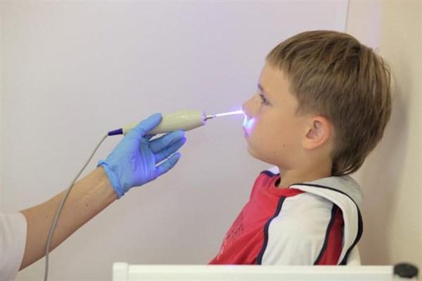 проведение лазеротерапии ребенку