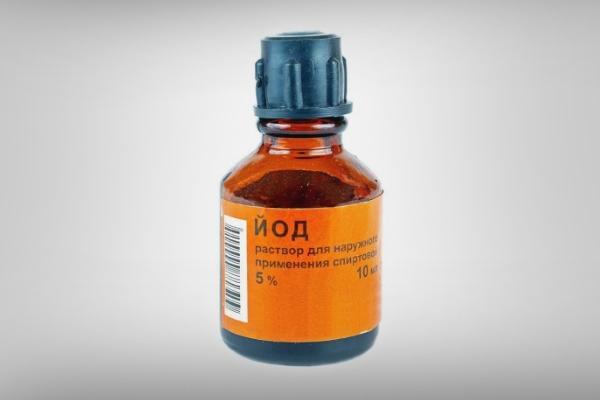 бутыль йода