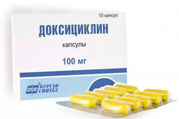 капсулы Доксициклина