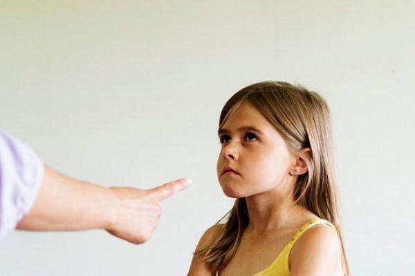ребенку что=то запрещают