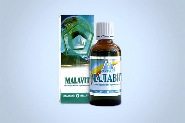 внешний вид препарата малавит