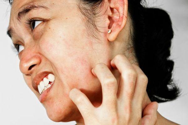 зуд заложен нос