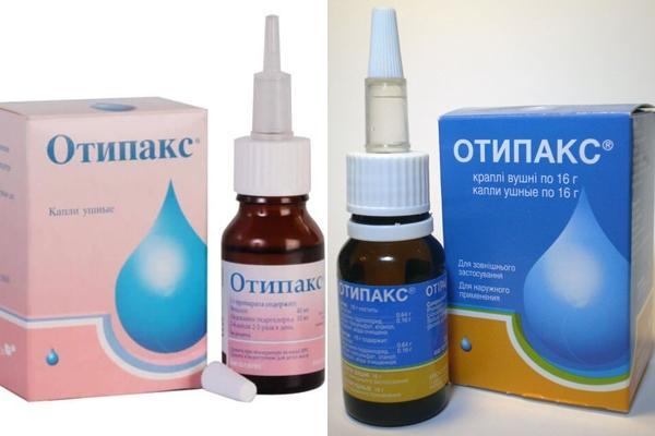 внешний вид препарата Отипакс