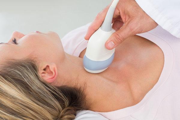 УЗИ исследование щитовидной железы