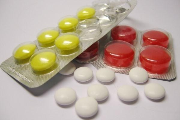 пластины таблеток