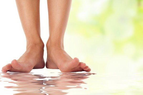 намокание ног