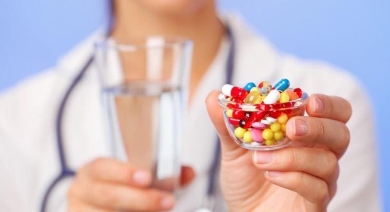 набор таблеток