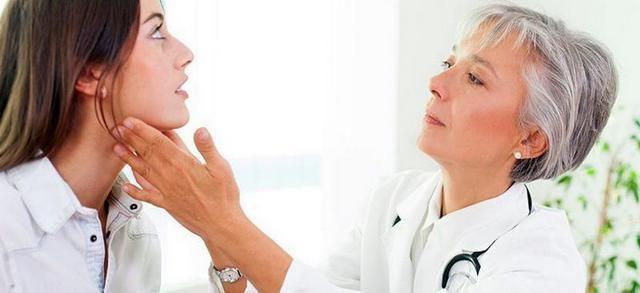 осмотр щитовидной железы