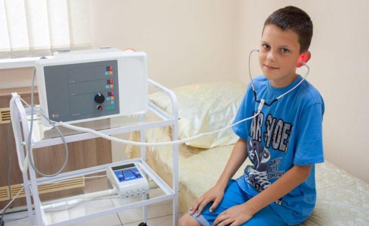 Физиопроцедуры ребенку