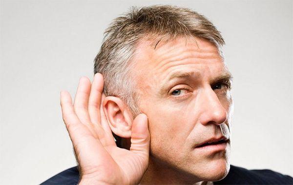 Глухота у мужчины