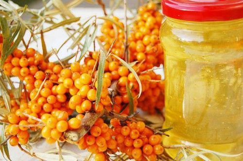 мед и облепиха