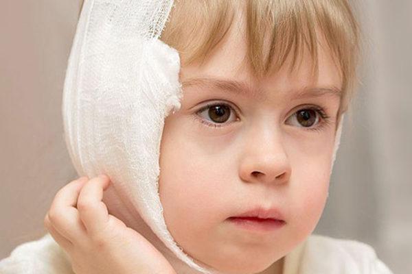 компресс для ух у ребенка
