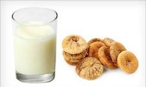 инжир и молоко