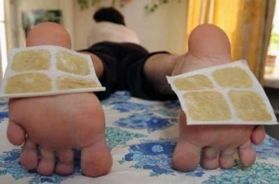 горчичники на ступнях