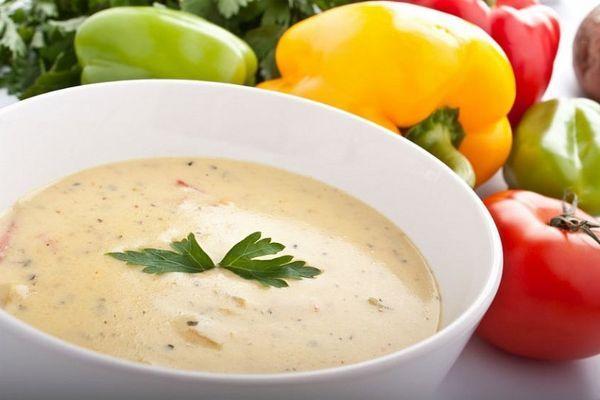 суп из сыра