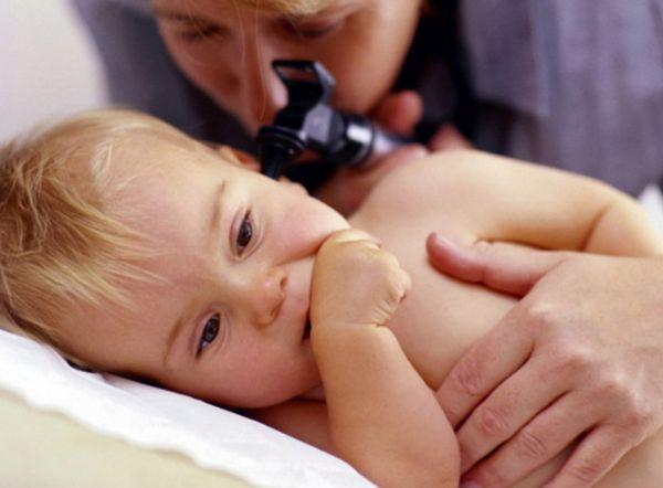 Ребенок на диагностике