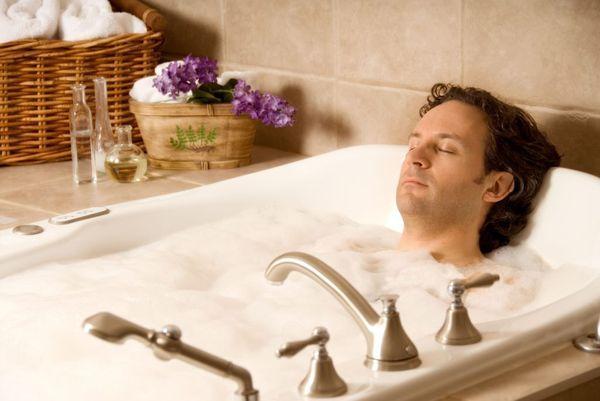 Прием ванны
