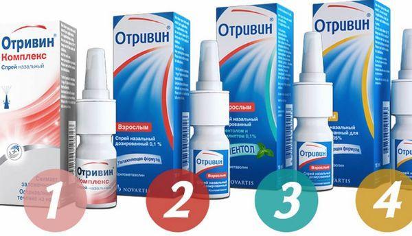 Препарат Отривин