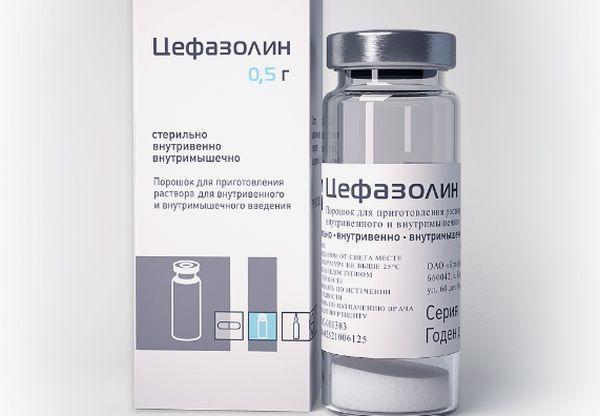 Цефазолин для уколов