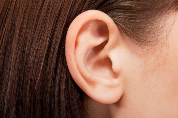 здоровое ухо