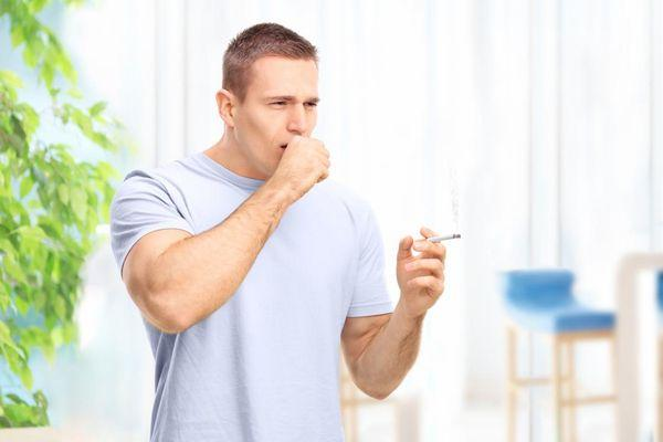 Кашель от курения