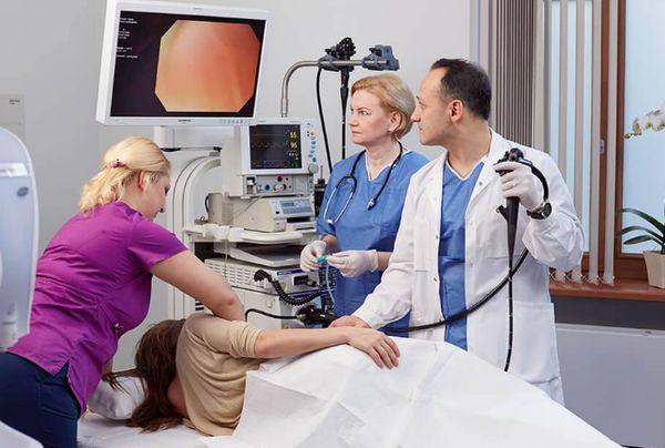 Проведение фиброгастроскопии