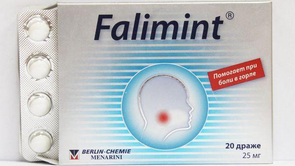 Таблетки Фалиминт