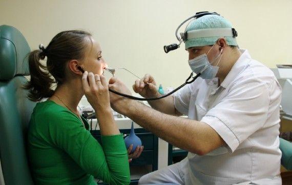 катетеризация слуховой трубы