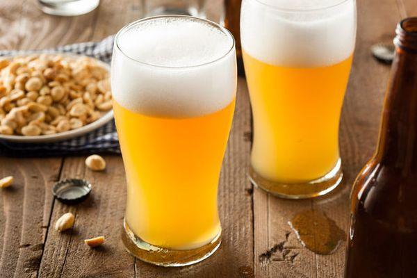 пиво с орешками