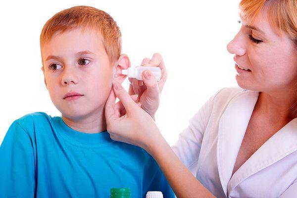 капли в уши ребенку