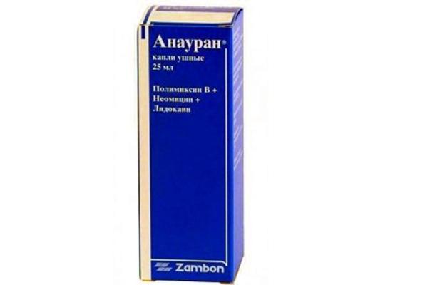 упаковка препарата анауран