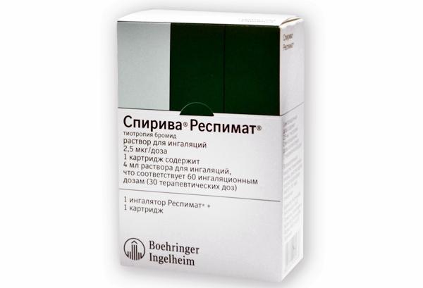 упаковка спирива респимат